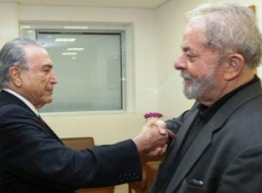 Temer já queria se aproximar de Lula, para criar diálogo com oposição, diz coluna