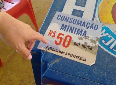 Rui veta projeto que impedia cobrança de 'consumação mínima' em bares da Bahia