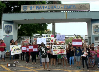 Com greve de policiais, Espírito Santo registra mortes e assaltos