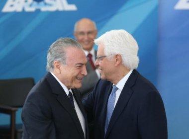 AGU informa ter derrubado na Justiça liminar que suspende nomeação de Moreira Franco