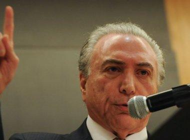 Temer atinge maior índice de desaprovação desde a posse, aponta Paraná Pesquisas