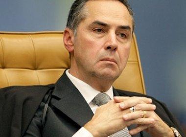 Em processo enviado ao STF, Barroso quer restringir foro privilegiado de políticos