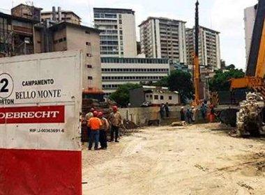 Justiça da Venezuela determina congelamento de contas bancárias da Odebrecht