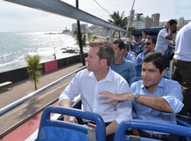 Prefeito e ministro do Turismo discutem apoio a projetos para Salvador