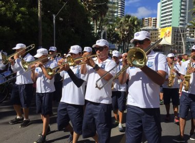 Banda da Guarda Municipal dá início ao Fuzuê em circuito na Barra
