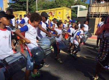 Projeto social do Nordeste de Amaralina leva mais de 50 jovens para tocar no Fuzuê