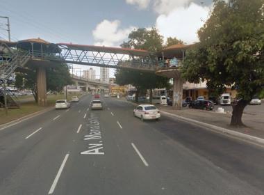 Um morre e três ficam feridos em acidente na Avenida Bonocô