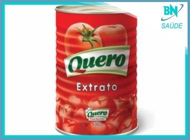 Lote do extrato de tomate Quero é proibido por presença de pelo de roedor