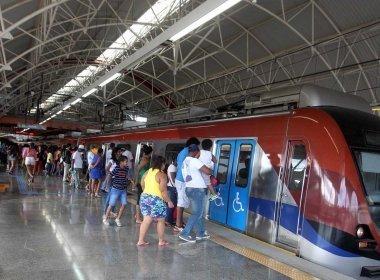 Linhas 1 e 2 do metrô funcionarão das 5h à meia-noite durante o Carnaval