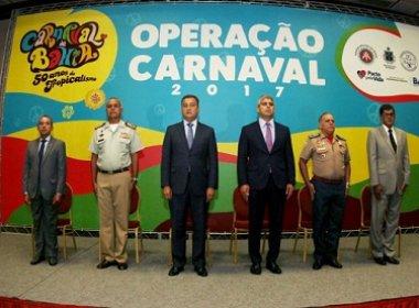 Software de simulador de ocorrências é destaque da SSP para Carnaval 2017