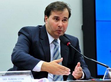 Rodrigo Maia avalia que será difícil aprovar projeto de socorro aos Estados