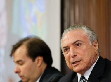 Michel Temer diz que objetivo do governo federal é deixar país 'reformulado'
