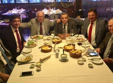 Almoço do PSL não discutiu espaço na gestão Rui Costa, afirma Castro