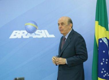 José Serra pede demissão do Ministério das Relações Exteriores por motivos de saúde