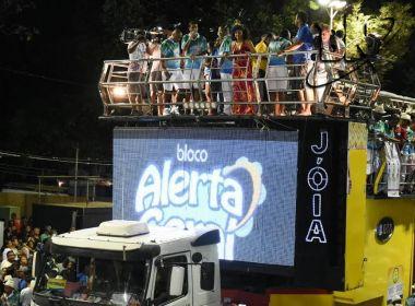 Circuito Osmar: Alerta Geral começa desfile trazendo samba para Avenida