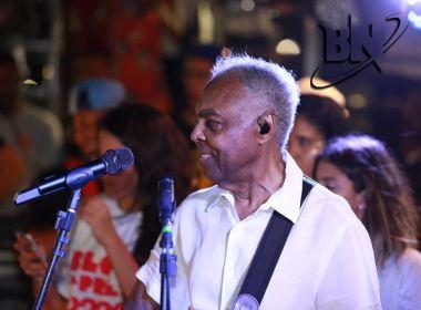 Gilberto Gil marca presença em encontro de trios com Preta, Psirico e Alavontê