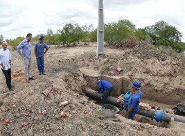 Rui sobrevoa obras de adutora em Queimadas e Santaluz e anuncia recuperação de rodovia