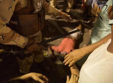 Sargento é preso em flagrante após efetuar disparo na Barra; PM alega legítima defesa