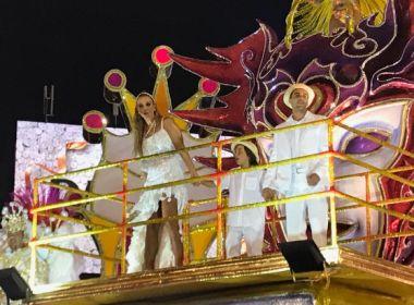 Ivete conta bastidores de desfile e agradece homenagem: 'Minha Bahia me dá tudo'