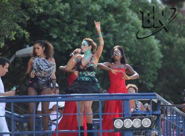 Daniela Mercury faz dueto com MC Beijinho no Circuito Osmar