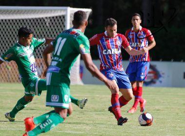 Em jogo morno, Bahia faz 1 a 0 e supera o Vitória da Conquista no Lomantão