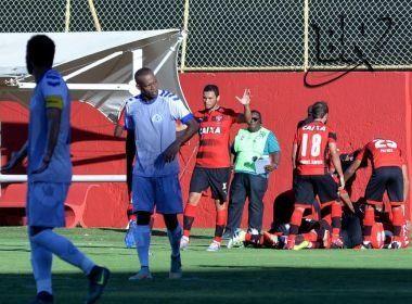 Vitória vence Atlântico e mantém 100% no Campeonato Baiano