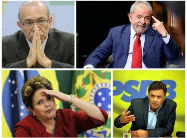 ELES ESTÃO NA LISTA DE JANOT A0 SUPERIOR TRIBUNA FEDERAL