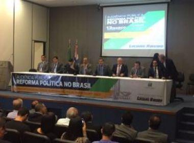Relator defende financiamento misto nas eleições com implantação entre 2022 e 2026