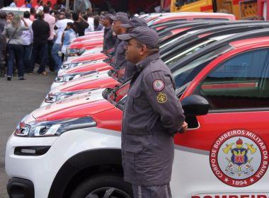 Corpo de Bombeiros Militar recebe 26 viaturas para atuação em Salvador e RMS