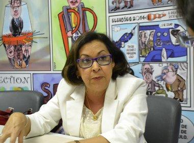 Articulação pode tirar Lídice da majoritária em 2018; senadora desconhece movimento