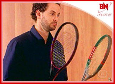 Dan Stulbach hostilizado por carregar raquete é destaque na coluna Holofote