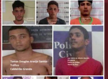 Detentos fogem pelo teto de complexo policial em Jacobina