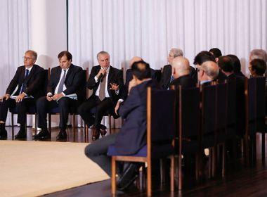 Nove ministros de Temer são alvo de pedido de inquérito da PGR