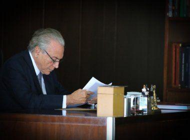 Temer admite que pode procurar Lula para conversar sobre situação do país
