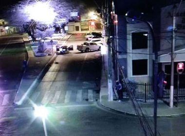Polícia prende suspeito de envolvimento em tentativa de assalto a banco em Irecê