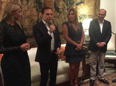 Em menção a 2018, Doria declara lealdade a Alckmin: 'não sou candidato a nada'