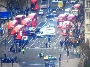 Polícia britânica prende sete suspeitos de ligação com atentado na ponte de Westminster