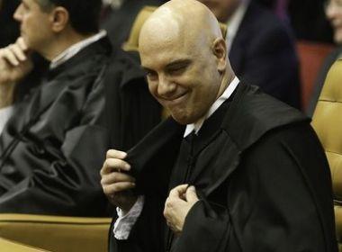 Alexandre de Moraes não convidou senadores de oposição para posse, diz coluna