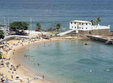 Salvador tem 9 praias impróprias para banho neste fim de semana