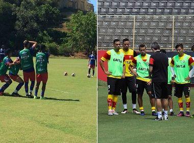 Bahia e Vitória encerram preparações para rodada do Baianão