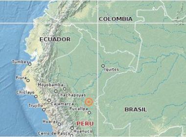 Peru registra abalo sísmico na fronteira com o Brasil; horário é próximo a tremor em SSA