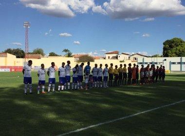 Em jogo insosso, Flamengo de Guanambi e Bahia empatam sem gols