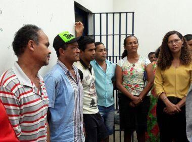 Baianapólis: Comitiva do governo visita presos e articula mediação de conflito de terra