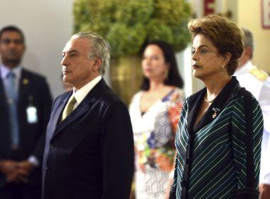 TSE: Em alegações finais, PSDB isenta Temer e acusa Dilma de 'abusos' políticos