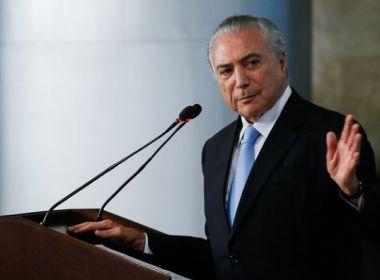 Temer diz que Brasil pode parar em 7 anos se não houver reforma previdenciária