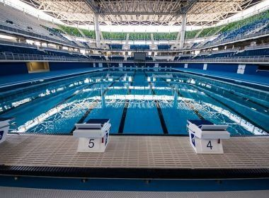 Falta de pessoal especializado atrasa chegada de piscina olímpica a Salvador