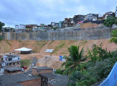 Prefeitura entrega primeira fase de obra de contenção de encosta em Barro Branco