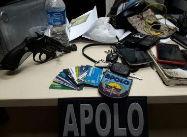Polícia desmonta quadrilha que roubava motoristas do Uber em Salvador