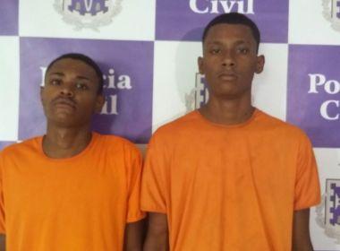 Dois envolvidos em assassinato de PM em farmácia da Pituba são presos