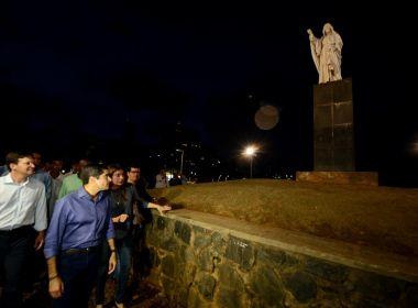 Monumento do Cristo da Barra é tombado e prefeitura anuncia requalificação de obra